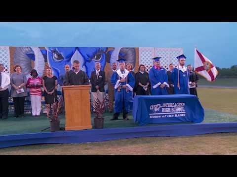 Interlachen High School Graduation 2017