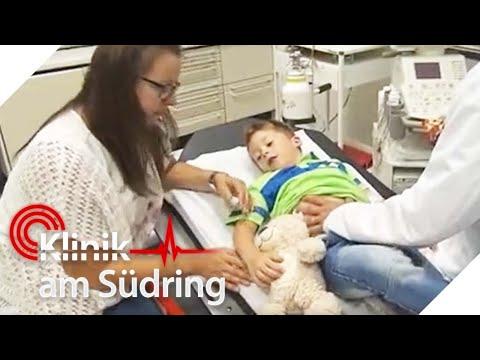 Was stimmt mit Justus nicht, dass er noch nicht in die Schule darf?   Klinik am Südring   SAT.1 TV