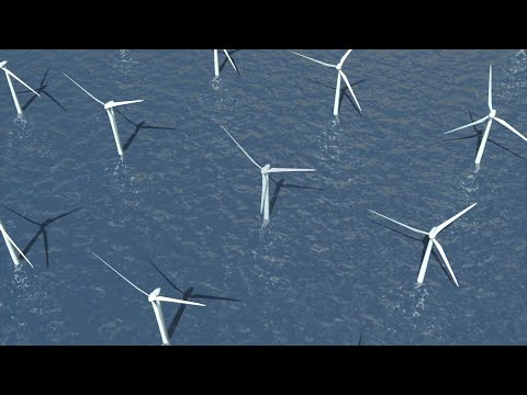 Entire world could be powered by a single deep-sea wind farm