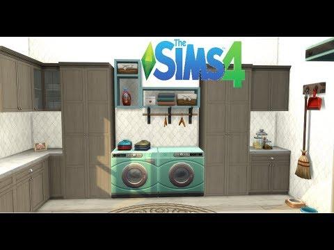 TS4 Laundry Day Laundry Room |