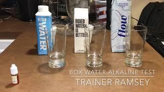 Boxed Water Ph Balance Alkaline test 2018