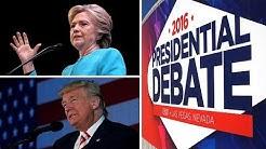 Clinton vs. Trump: Wetten laufen vor TV-Duell auf Hochtouren