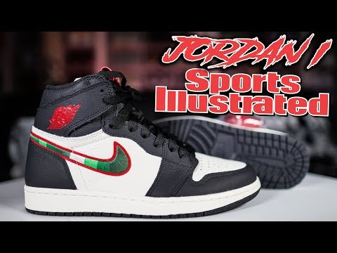"JORDAN 1 ""SPORTS ILLUSTRATED"" ""A STAR IS BORN"" REVIEW !!"