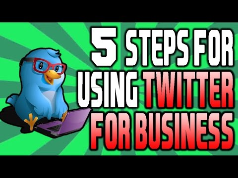 How To Use Twitter For Business: 5 Twitter Basics For Business!