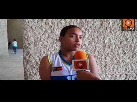 Faul y CuentaTV: Entrevista Nelly Leva Máxima anotadora del Centrobasket U15 2014
