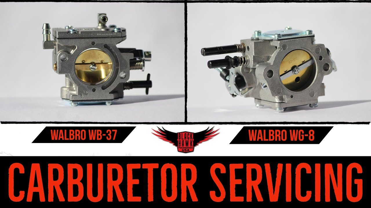 WALBRO CARBURETORS - Rebuilding & Servicing: Paramotor Maintenance!