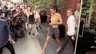 Baixar Model Kendall Jenner leaving the Mercer Hotel in New York City