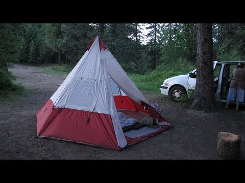 OZARK TRAIL 7-PERSON TEEPEE TENT REVIEW