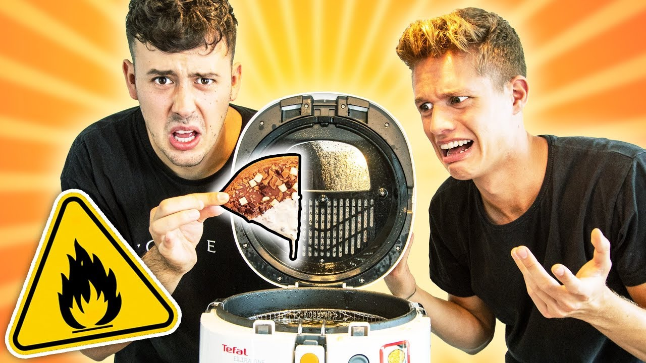 WIR FRITTIEREN PIZZA! (mit Luca????)