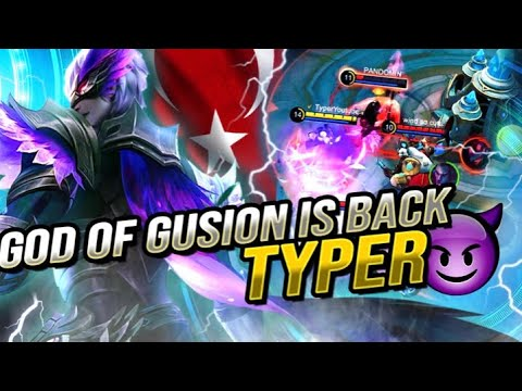 Download GLOBAL 1 GUSION TYPER / GOD OF GUSION IS BACK /  MAGE KING