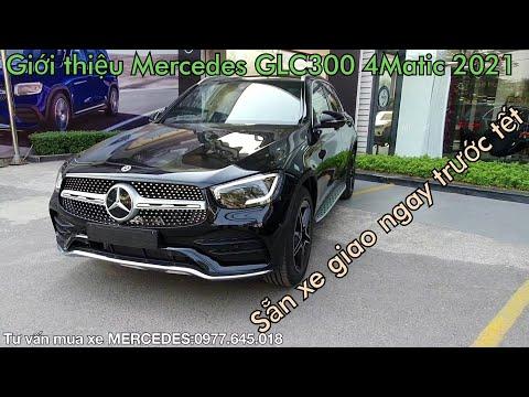 Giới thiệu Mercedes GLC300 AMG 4Matic 2021 |Trả trước 800 triệu nhận ngay xe GLC300 AMG 4Matic 2021