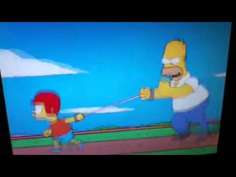 The Simpsons : Tether Run