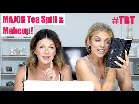 PRO MAKEUP TIPS & THE TRUTH ABOUT OUR 90210 FEUD | Shenae Grimes Beech & Annalynne Mccord