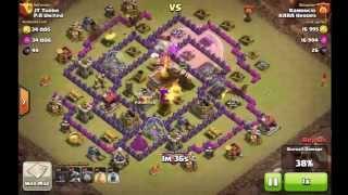 Clash of Clans Ramoncio attack 1 P.A. United War 51