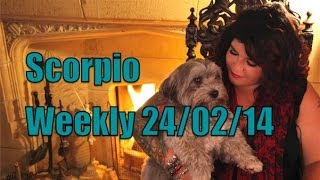 Scorpio astrology forecast 24th Feb 2014 with Michele Knight
