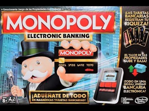 Monopoly Electronic Banking Juego De Mesa Hasbro Gaming B6677e40