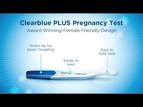 PLUS Pregnancy Test Product Overview