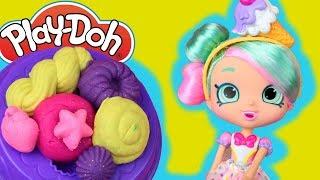 Play Doh  Desery Shopkins  kreatywne zabawy