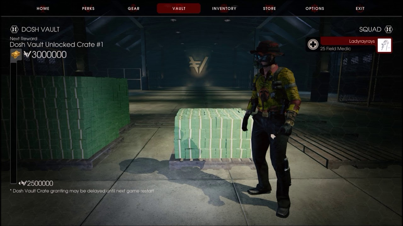 Killing Floor 2 Taking A Chance With The Dosh Vault