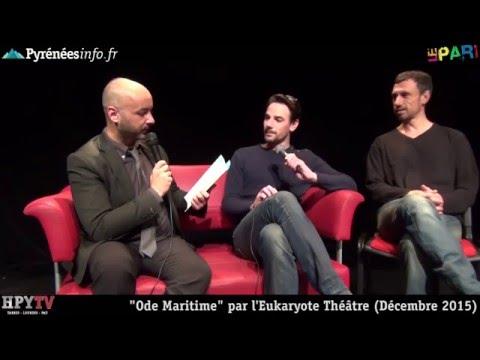 [AU PARI] Ode Maritime par Eukaryote Théâtre (Décembre 2015)