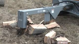 EDGE Inverted Log Splitter Keeps You From Lifting Heavy Logs Thumbnail