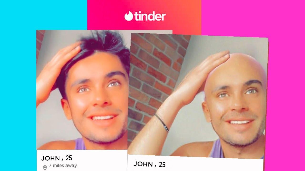 Guys tinder bald on Tinder @