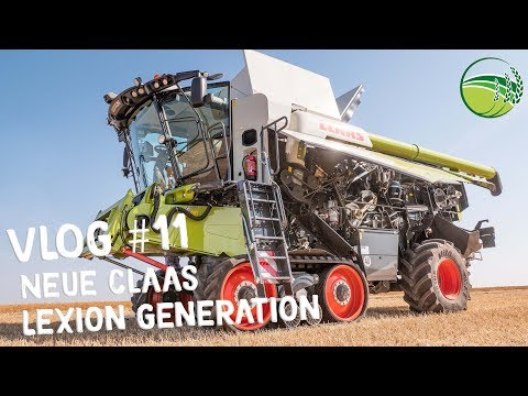 CLAAS LEXION 8900 | CLAAS LEXION 2020 Mähdrescher Generation | Agritechnica 2019 |VLOG #11