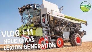 CLAAS LEXION 8900 | CLAAS LEXION 2020 Mähdrescher Generation | Agritechnica 2019 |VLOG #11