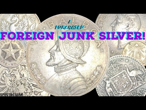 I Purchased Foreign Junk Silver Coins!