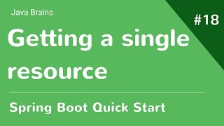 Baixar Spring Boot Quick Start 18 - Getting a single resource