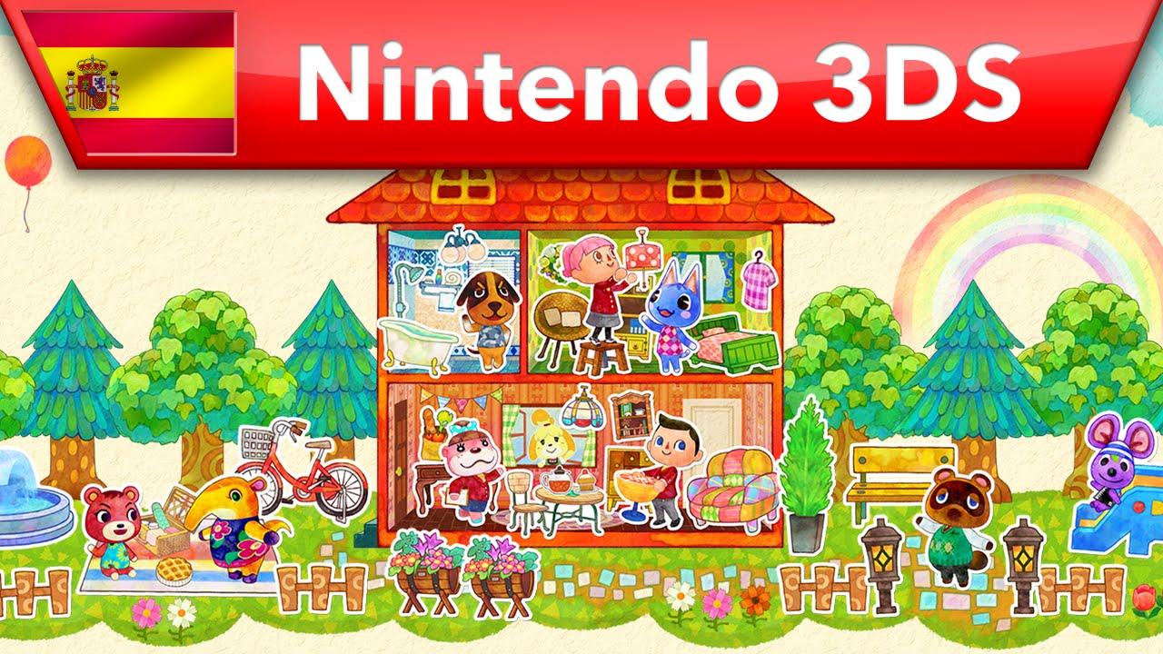 Animal Crossing Happy Home Designer Tr Iler De Lanzamiento Nintendo 3ds Youtube