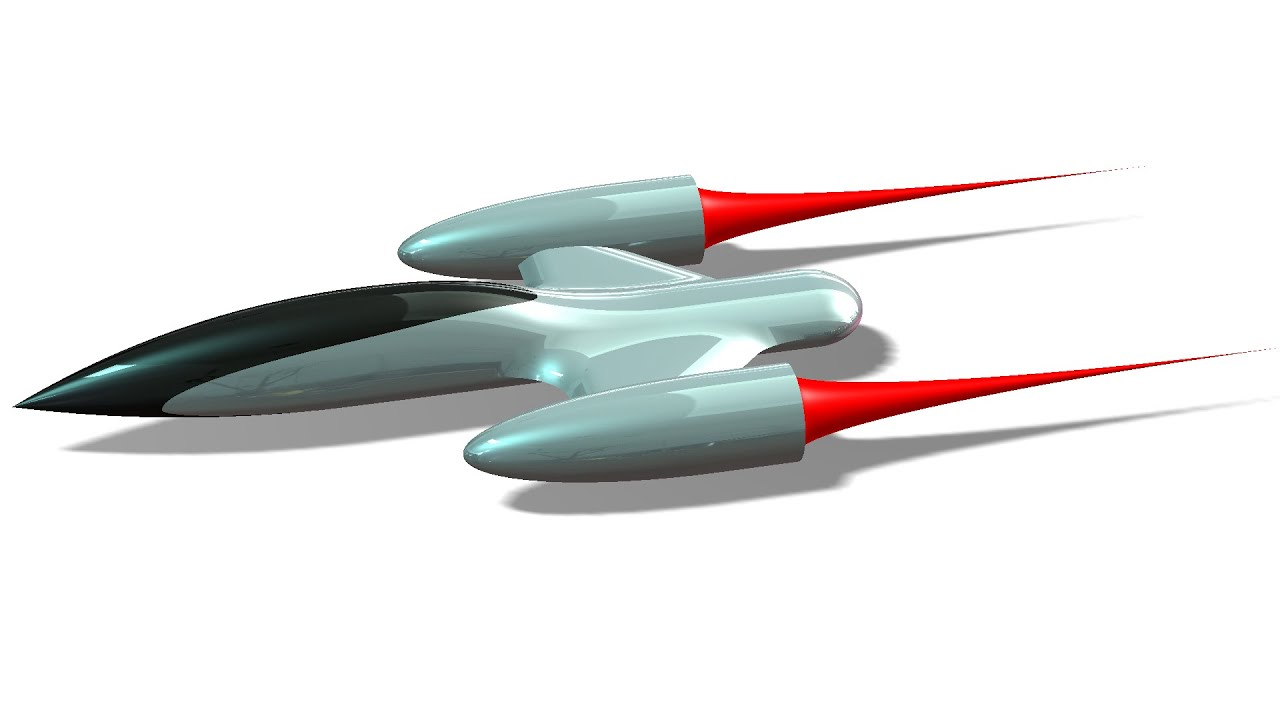 How to Design a 3D Starship Concept in SolidWorks