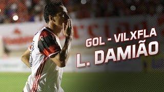 Gol de Leandro Damião - Vila Nova x Flamengo