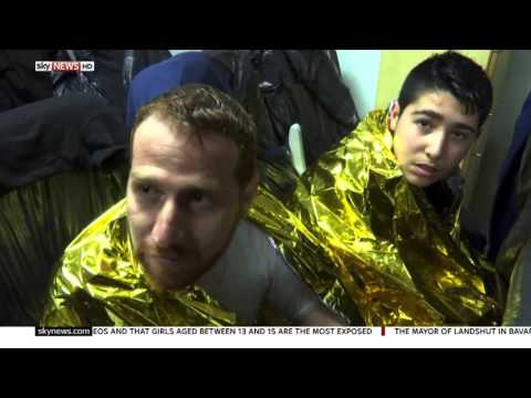 Migrant Offshore Aid Station - Sky News, 15 January 2016
