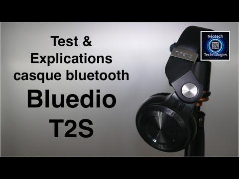Casque Bluetooth Bluedio T2S Test & Explications - Français