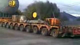 Cel mai lung trailer pe E85 Focsani