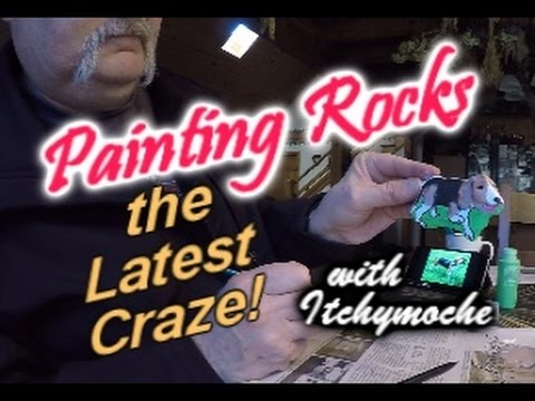 Learn Rock Painting and Hiding - The Newest Craze!