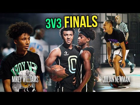 Can Julian Newman WIN The Finals, Or Will Mikey Williams \u0026 Kyree Walker Take The Crown!? 😱
