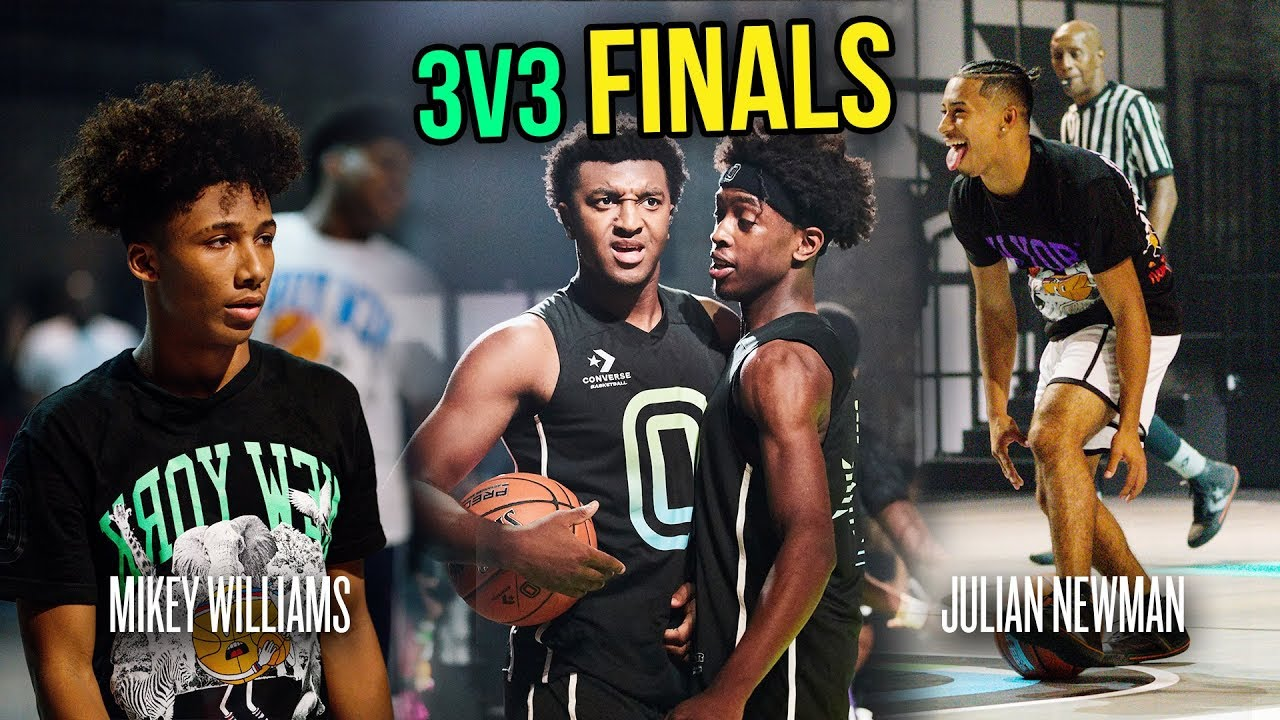 Download Can Jalen Suggs WIN The Finals, Or Will Mikey Williams & Kyree Walker Take The Crown!? 😱