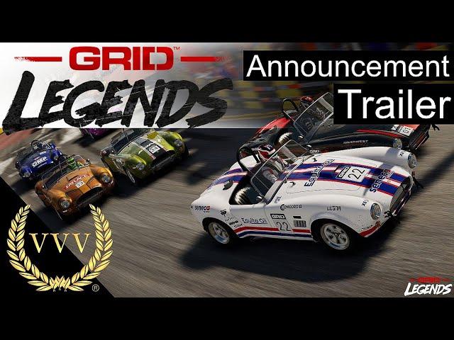 Grid Legends Announcement Trailer & Chat