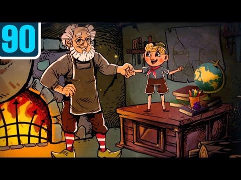 Волшебный фонарь — Пиноккио — Серия 90