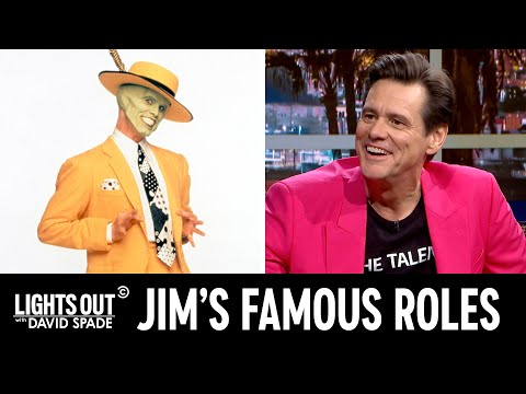 Jim Carrey Reminisces About His Most Famous Roles - Lights Out with David Spade