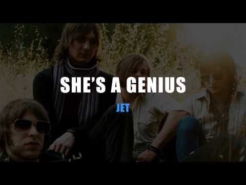 Jet - She's a Genius Karaoke (Instrumental with Lyrics)