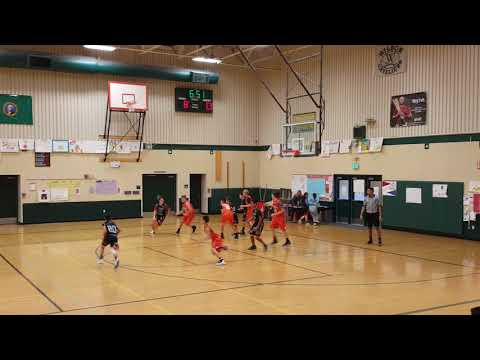 2018 Yakima Valley AAU Invitational Tournament  Zillah Leopards vs White Swan Cougars