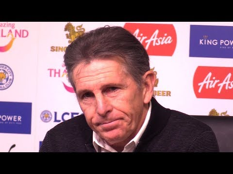 Claude Puel Full Pre-Match Press Conference - Liverpool v Leicester - Premier League - On Van Dijk
