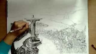 Drawing: Rio de Janeiro