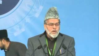 Inam Ghori Sb Nazir-e-Ala Bharat Inaugurating Jalsa Salana Qadian 2012