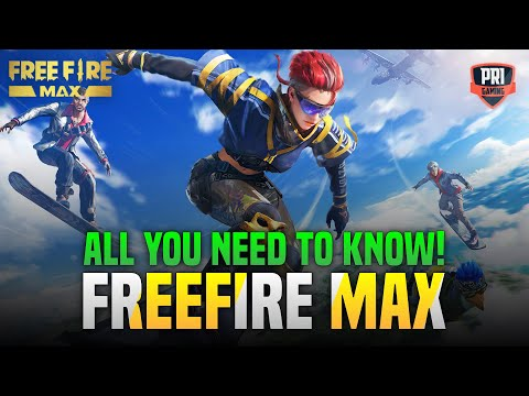 FREEFIRE MAX INDIA PRE REGISTER - GAMEPLAY -  LAUNCH DATE -GARENA FREEFIRE VS FREEFIRE MAX