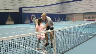 Alice and Niania tennis class