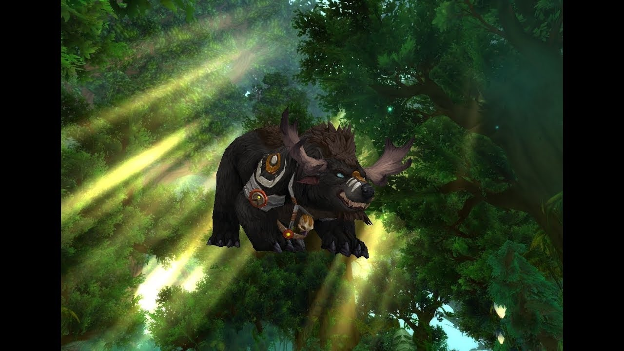 Highmountain Tauren Druid Forms